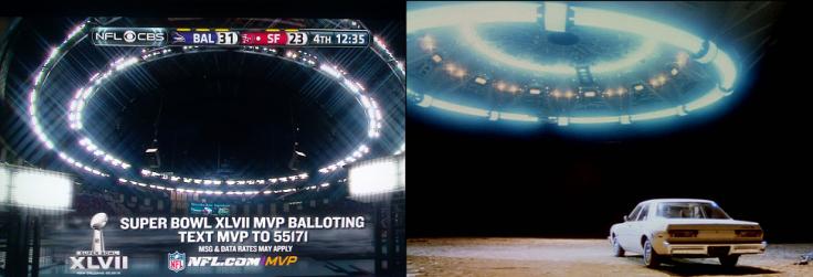 Super Bowl Spaceship